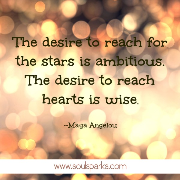 desire to reach for the stars is wise