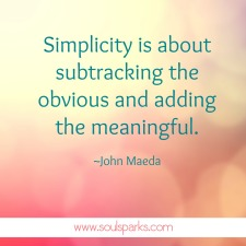 adding the meaningful