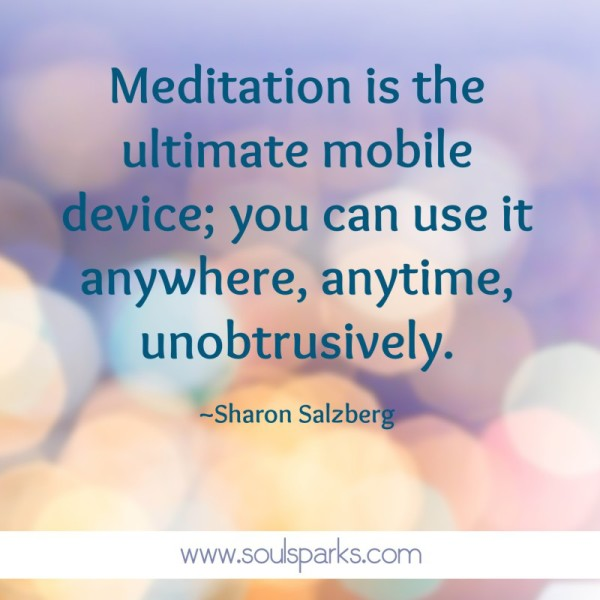 meditation is ultimate mobile device