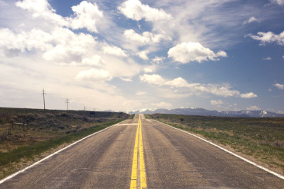 open road big sky